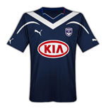 Camiseta Bordeaux 2010-2011 Home
