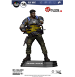 Gears of War 4 Figura Color Tops Delmont 'Del' Walker 18 cm