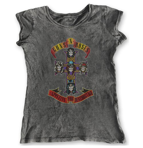 Guns Compra Appetite For Roses N' Camiseta Original Destruction TIr5xT6w