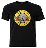 Camiseta Guns N' Roses Circle Logo with Foiled Application