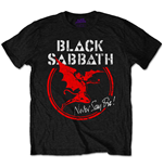 Camiseta Black Sabbath de hombre - Design: Archangel Never Say Die