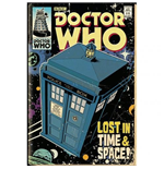 Póster Doctor Who  - Tardis Comic Poster Maxi (61x91,5 Cm)