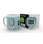 Taza Rick and Morty - Free Rick