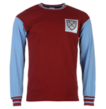 Camiseta vintage West Ham United Home 1966