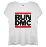 Camiseta Run DMC Logo with Skinny Fitting