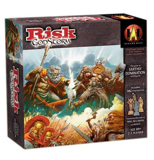 Compra Avalon Hill Juego De Mesa Risk Godstorm Ingles Original