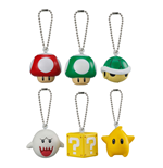 Super Mario 3D World Llaveros 4 cm Expositor Soft Squeezed Mascot Wave 1 (18)