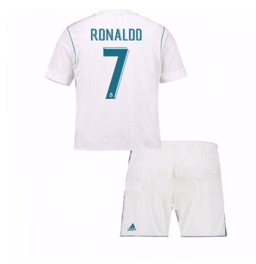 Conjunto 2017/18 Real Madrid Home (Ronaldo 7) de niño