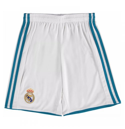 Pantalón corto Real Madrid 2017-2018 Home (Blanco)