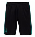 Pantalón corto Real Madrid 2017-2018 Away (Negro)