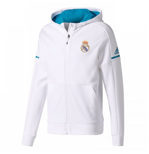 332c903017aa6 Compra Chaqueta Real Madrid 2017-2018 (Blanco) Original