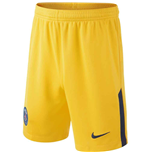 Pantalón corto Paris Saint-Germain 2017-2018 Away (Amarillo)