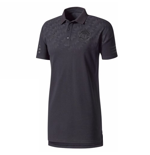 Polo Manchester United FC 2017-2018 (Negro)