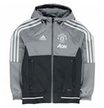 Chaqueta Manchester United FC 2017-2018 (Gris)
