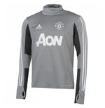Sudadera Manchester United FC 2017-2018 (Gris)