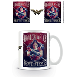 Wonder Woman Taza Fight For Justice