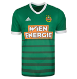 Camiseta Rapid Vienna 2017-2018 Home