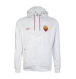 Chaqueta AS Roma 2017-2018 Nike Authentic (Blanco)