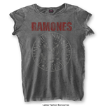 Camiseta Ramones Presidential Seal with Burn Out Finishing