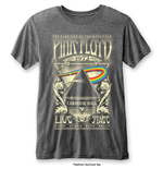 Camiseta Pink Floyd Carnegie Hall with Burn Out Finishing