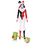DC Comics Designer Figura Holiday Harley Quinn by Amanda Conner 17 cm