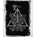 Póster Harry Potter - Deathly Hallows Graphic - 40x50 Cm