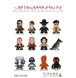 Metal Gear Solid Display de 20 Minifiguras The Phantom Pain Collection Titans 8 cm