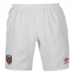Pantalón corto West Ham United 2017-2018 Home (Blanco)