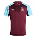 Camiseta 2017/18 West Ham United 2017-2018 Home de niño