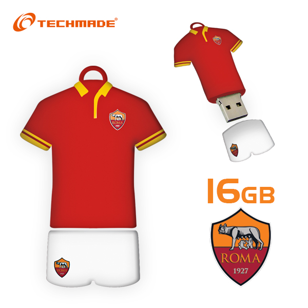 Memoria USB  AS Roma 16 GB
