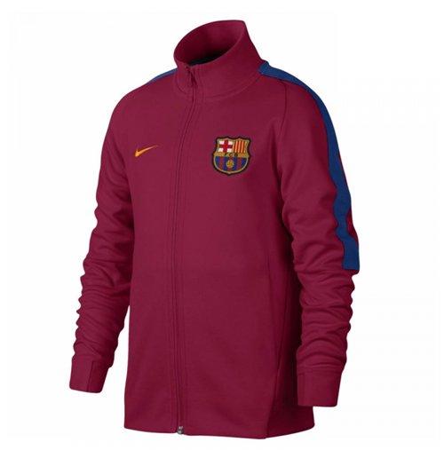 Compra Chaqueta FC Barcelona 2017-2018 (Rojo) Original 37556a10c98