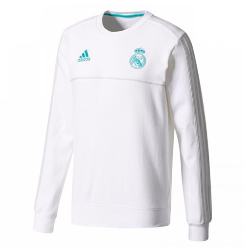 Sudadera Real Madrid 2017-2018 (Blanco)
