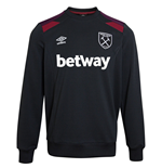 Sudadera West Ham United 2017-2018 (Negro)