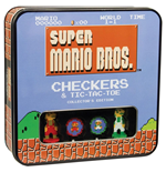 Super Mario Bros. Juego de Mesa Damas Collector's Edition