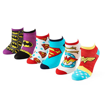 Calcetines Superhéroes DC Comics