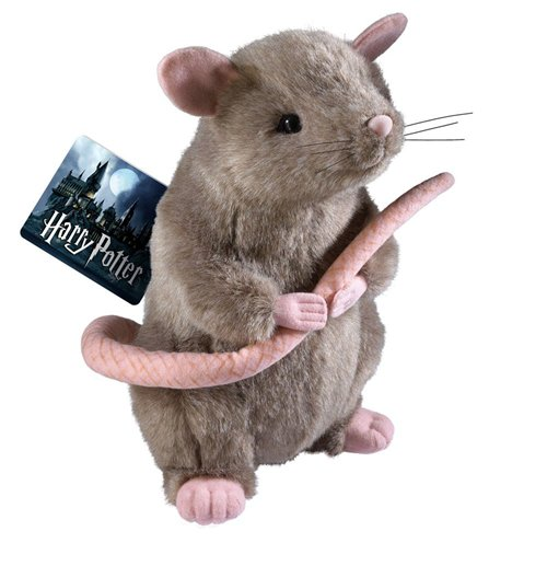 Harry Potter Peluche Scabbers 23 cm