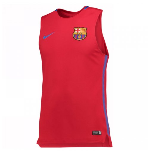 Compra Camiseta de Tirantes FC Barcelona 2017-2018 (Rojo) Original 009144c763886