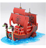 One Piece Grand Ship Collection Maqueta Plastic Model Kit Kuja Pirates Ship 15 cm