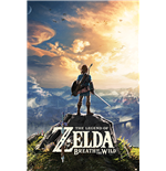 Póster The Legend of Zelda : Breath Of The Wild - Sunset - 61 x 91,5 cm