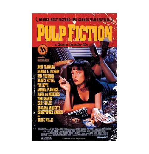 Póster Pulp fiction 271601