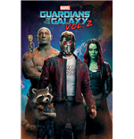 Póster Guardians of the Galaxy Vol. 2 - Characters In Space - 61X91,5 Cm