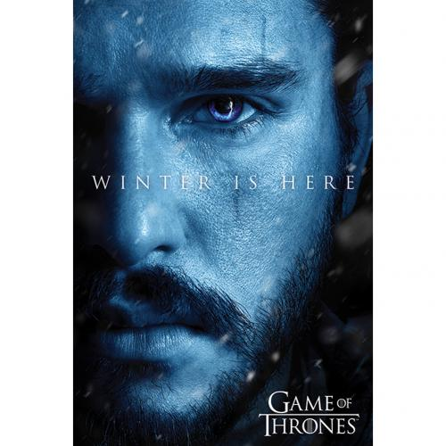 Póster Juego de Tronos (Game of Thrones) Jon Snow