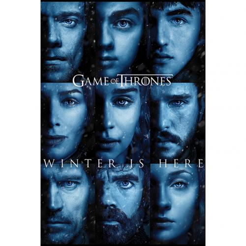 Póster Juego de Tronos (Game of Thrones) Winter Is Here