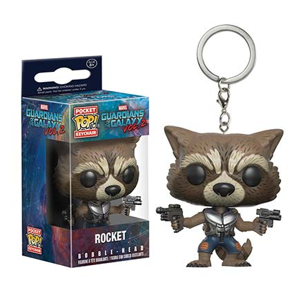 Llavero Guardians of the Galaxy Rocket Raccoon