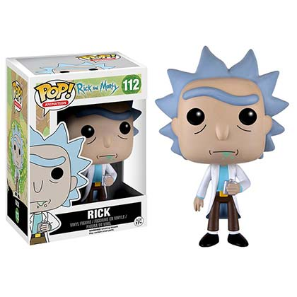 Muñeco Rick and Morty - Rick
