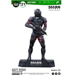 Mass Effect Andromeda Figura Color Tops Scott Ryder 18 cm