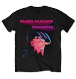 Camiseta Black Sabbath - Paranoid Motion Trails Negra