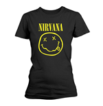 Camiseta Nirvana Smiley Logo