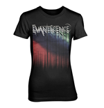 Camiseta Evanescence Tour Logo