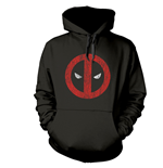 Sudadera Deadpool Cracked Logo